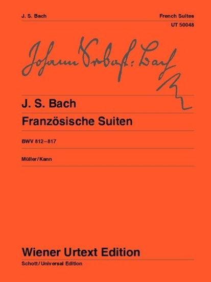 Johann Sebastian Bach: French Suites for piano BWV 812�V817