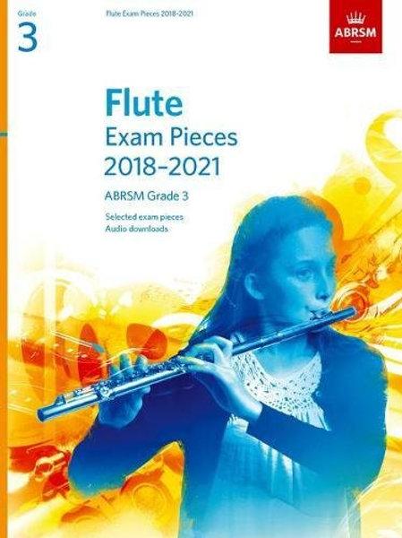 Flute Exam Pieces 2018�V2021, ABRSM Grade 3