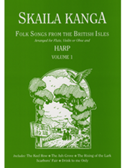 Folk Songs from the British Isles for flute (or violin or oboe) and harp - 1