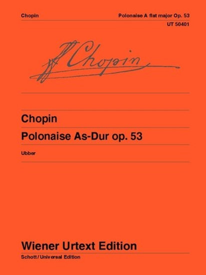 Fr?d?ric Chopin: Polonaise - Ab major for piano op. 53