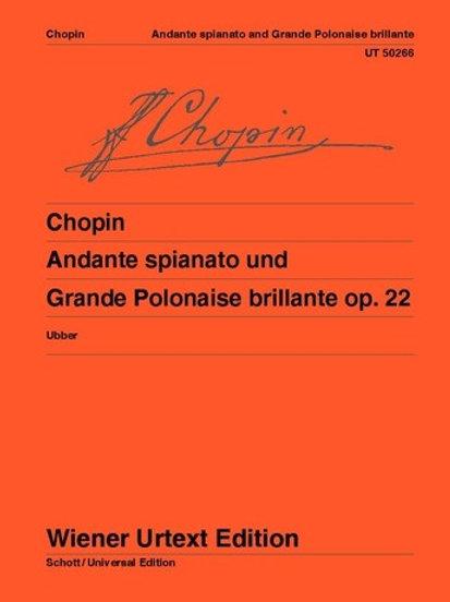 Fr?d?ric Chopin: Andante spianato and Polonaise brillante for piano op. 22