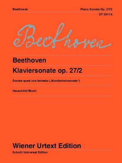 Ludwig van Beethoven: Sonata - C# minor for piano op. 27/2