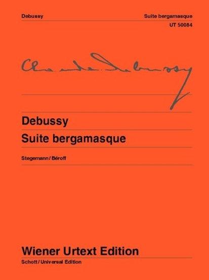 Claude Debussy: Suite bergamasque for piano