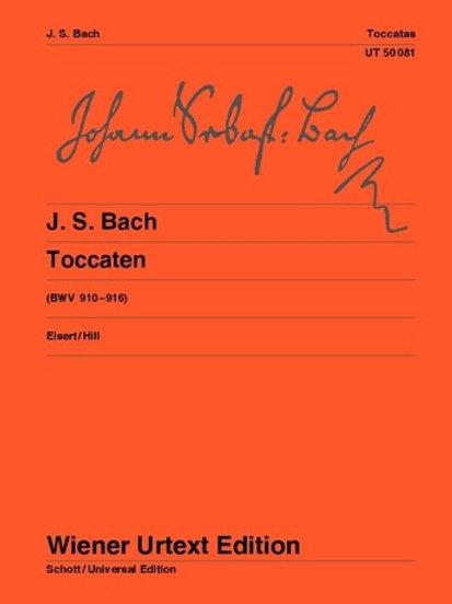 Johann Sebastian Bach: Toccatas for piano BWV 910-916
