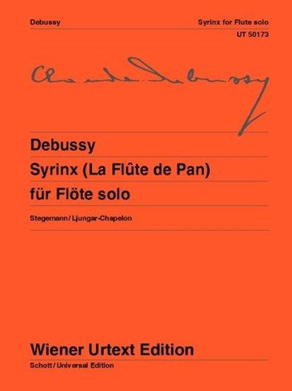 Claude Debussy: Syrinx (La Flute de Pan) for flute solo