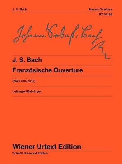 Johann Sebastian Bach: French Overture for piano BWV 831/831a