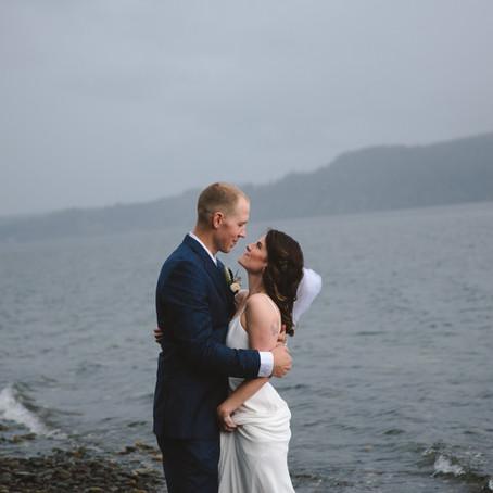 Lauren and Tyler - Hood Canal Wedding