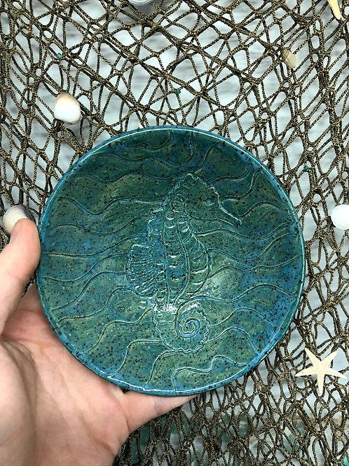 Seahorse Trinket Dish