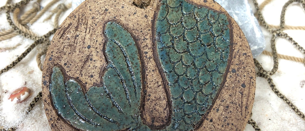 Mermaid tail ornament