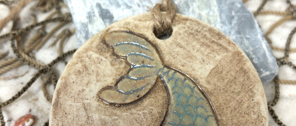 Mermaid Tail Ornament #2