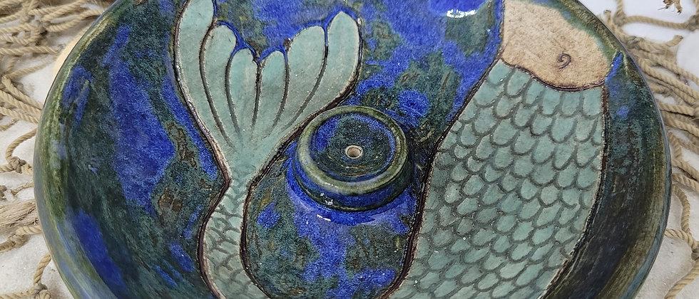 Mermaid Tail Incense Dish