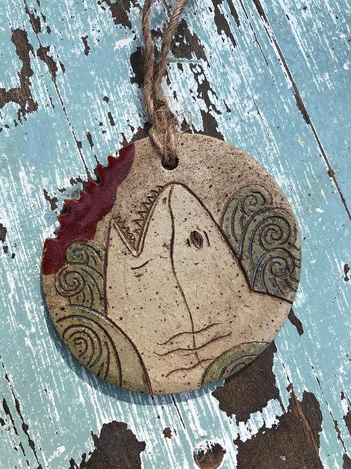 Hanging Shark Ornament