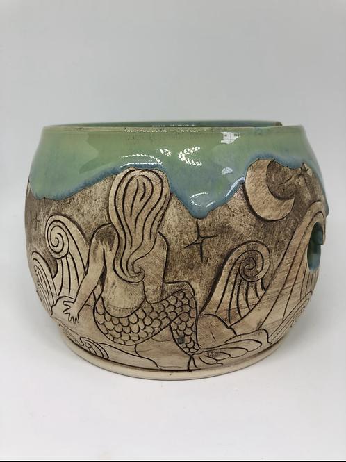 Mermaid Yarn Bowl
