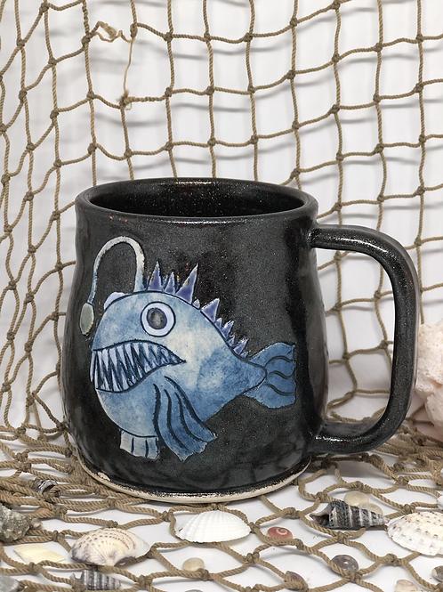 Angler fish mug
