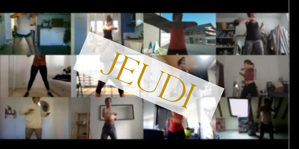 SHE IS SWEATING - JEUDI