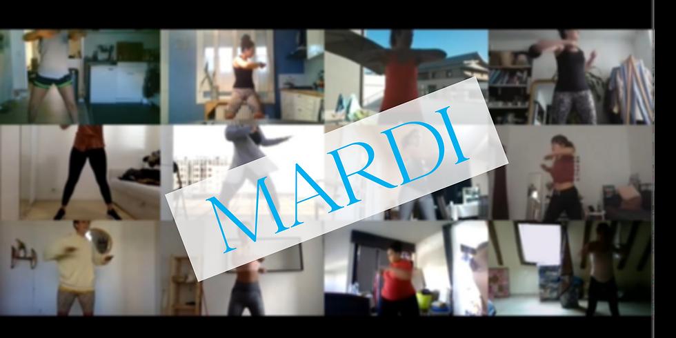 SHE IS SWEATING - MARDI