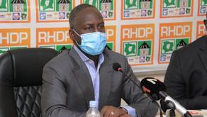 """Présidentielle : le RHDP n'exclut pas une candidature de Ouattara évoquant un cas de """"force majeure"""""""