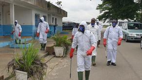 Covid-19 : opération de désinfection de l'Université Nangui Abrogoua après le premier cas testé posi