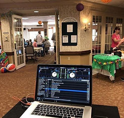 dj, nursing home