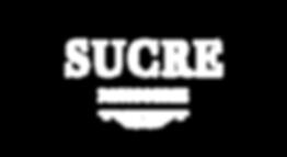 Sucre Pastisserie Logo - White Writing N