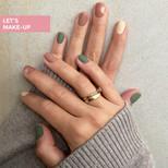 manicure matowy