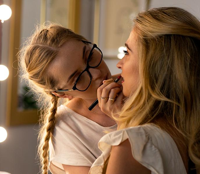 Usługa makijażu jako część programu well-being