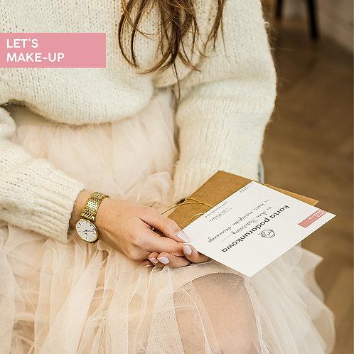 Kurs makijazu voucher na makijaz karta podarunkowa na makijaz warszawa