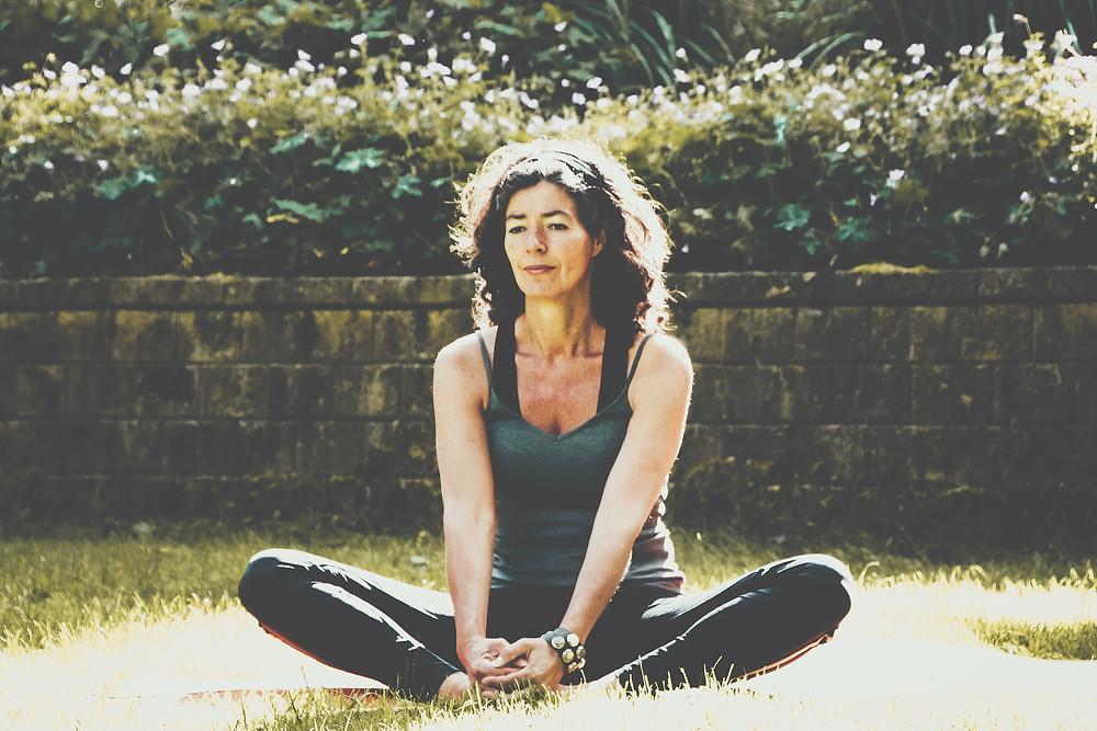 do-in yoga, pose, verkeerde been, petra van westing