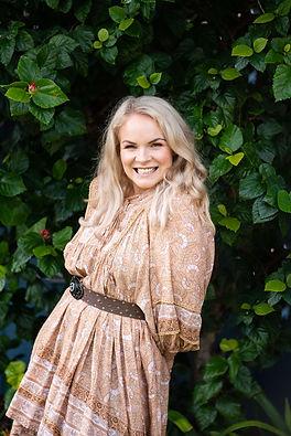 Kimberley Bartlett Ivy Rose Crystals founder
