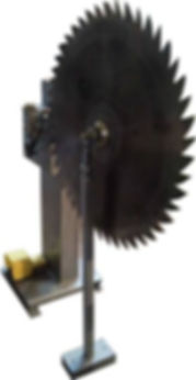 Пост для напайки пластин твердого сплава ПНТС – 750
