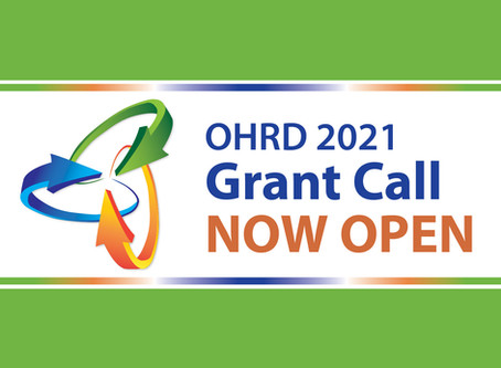 2021 Grant Call Now Open!