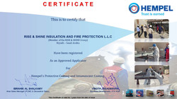 Hempel Certificate