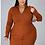 Thumbnail: Zip-up sweater dress