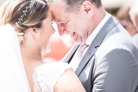 Braut und Bräutigamsvater