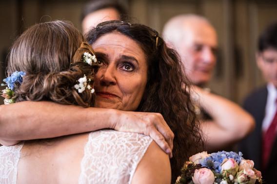 Glückwünsche der Brautmutter