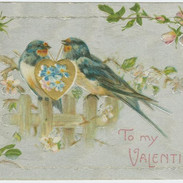 """The Miriam and Ira D. Wallach Division of Art, Prints and Photographs: Picture Collection, The New York Public Library. """"To my Valentine."""" The New York Public Library Digital Collections. 1900 - 1909."""