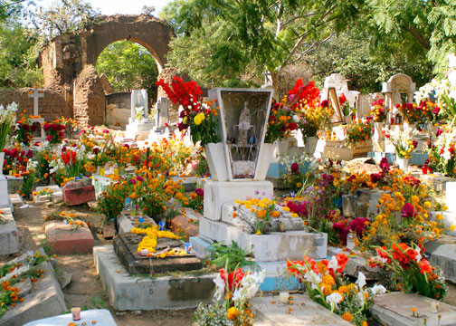 Decorated Cemetery