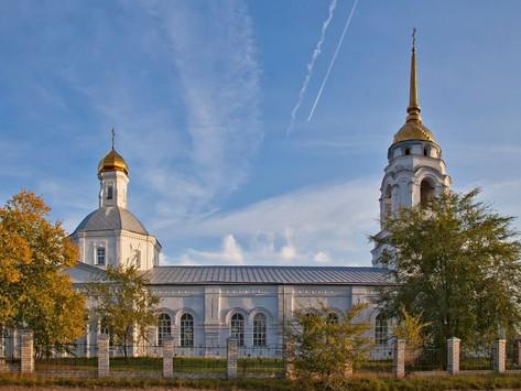 Паломничество в Троицкий храм села Боровое