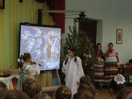 Гимназический Фестиваль рождественских сказок