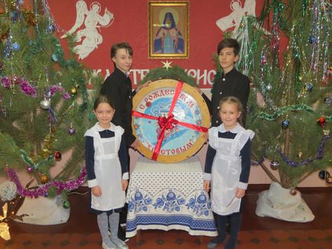 Рождественские подарки гимназистам от МИТРОПОЛИТА ВОРОНЕЖСКОГО и ЛИСКИНСКОГО СЕРГИЯ