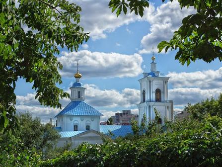 Паломничество в Тихвино - Онуфриевский храм Воронежа