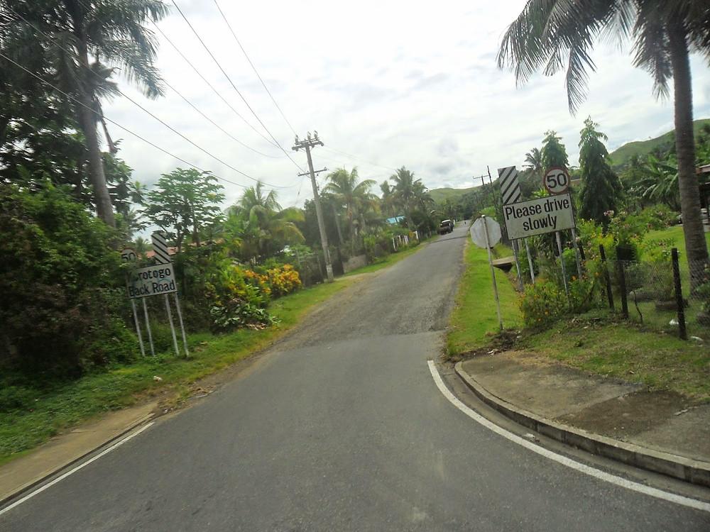 Korotogo back Road Sigatoka Fiji roads - fiji travel blog fiji expat fiji holiday me and fiji