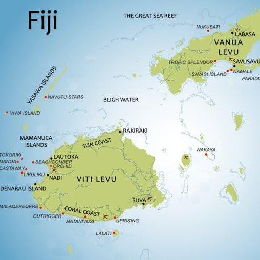 Me and Fiji | Fiji expat blog | Fiji map | Viti levu map | Moving to Fiji