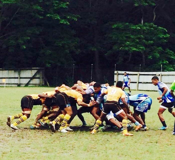 Rugby game local match Fiji - meandfiji