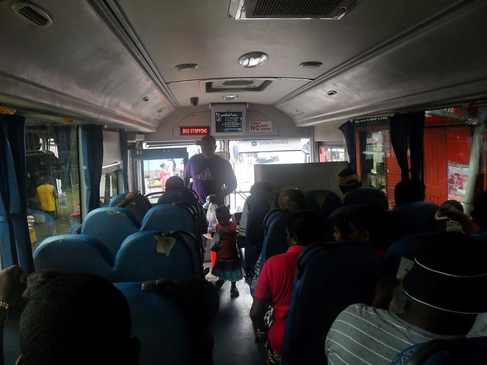 bus trip in Fiji bus to Hideaway Resort - fiji travel blog fiji expat fiji holiday me and fiji