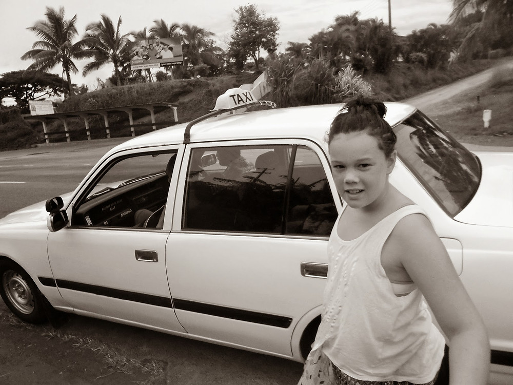 Taxi Ride Fiji - fiji travel blog fiji expat fiji holiday me and fiji