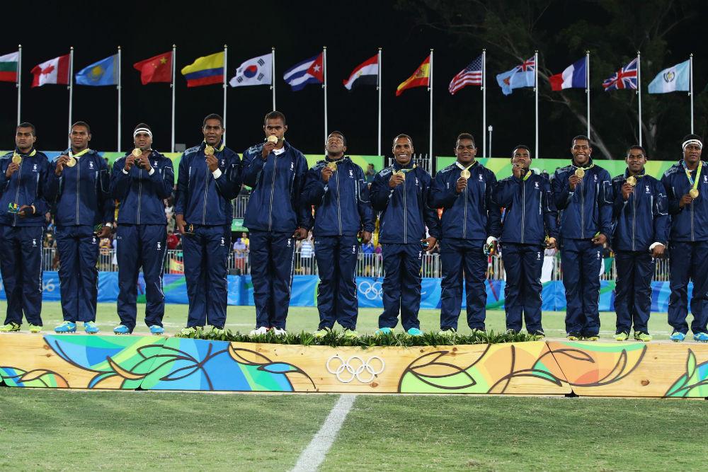 Fiji wins Olympic gold - me and fiji