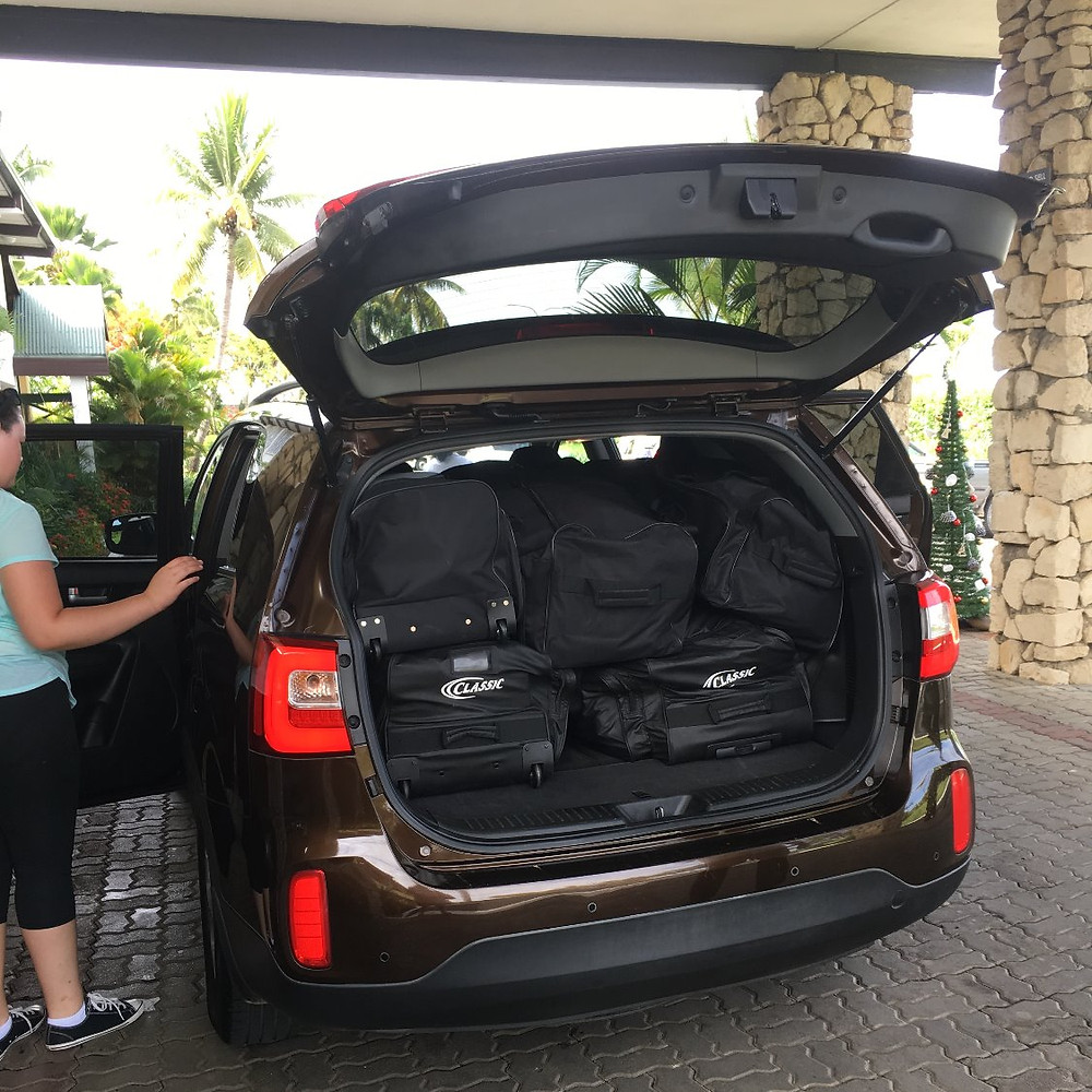 Me and Fiji | overpacking on holidays | car hire in Fiji | expat in Fiji