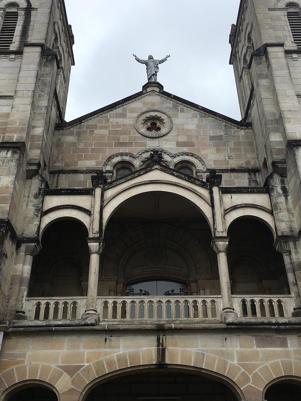 suva cathedral; me and fiji; catholic church in suva;