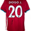Thumbnail: DIOGO JOTA SIGNED LIVERPOOL FC 2020/21 HOME SHIRT JOTA 20